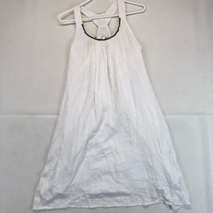 Spense white midi dress SZ M